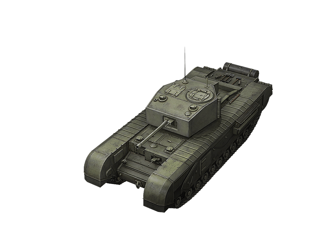 Черчилль III в World of Tanks Blitz