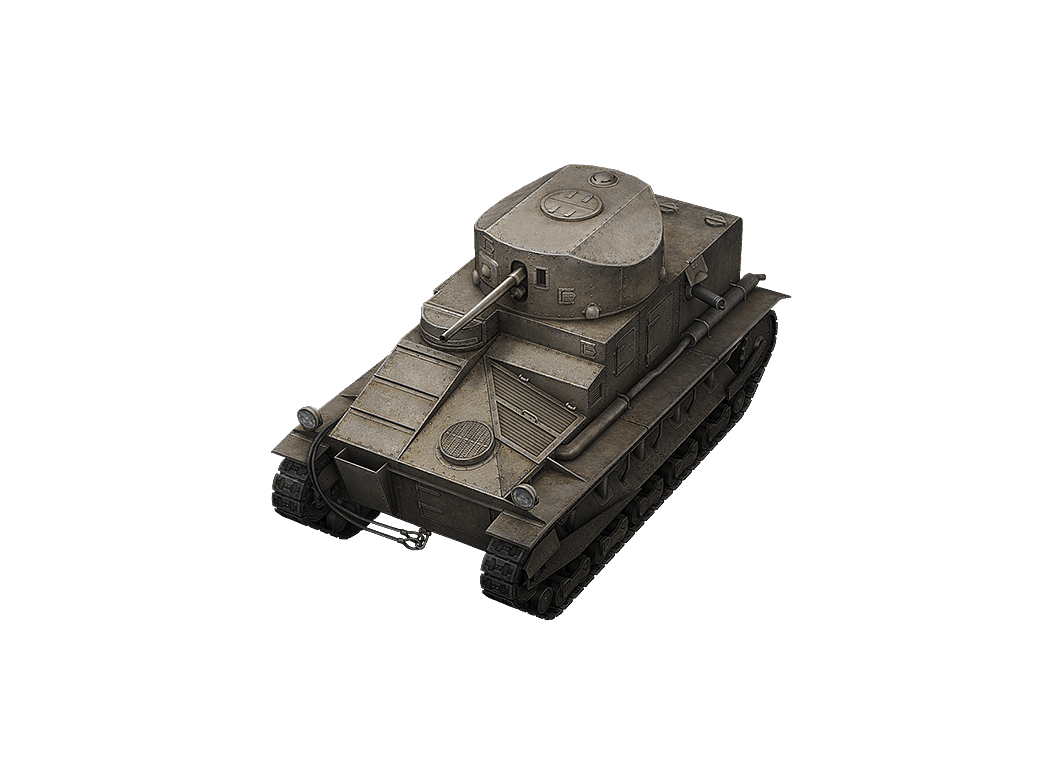 Vickers Medium Mk. I в World of Tanks Blitz