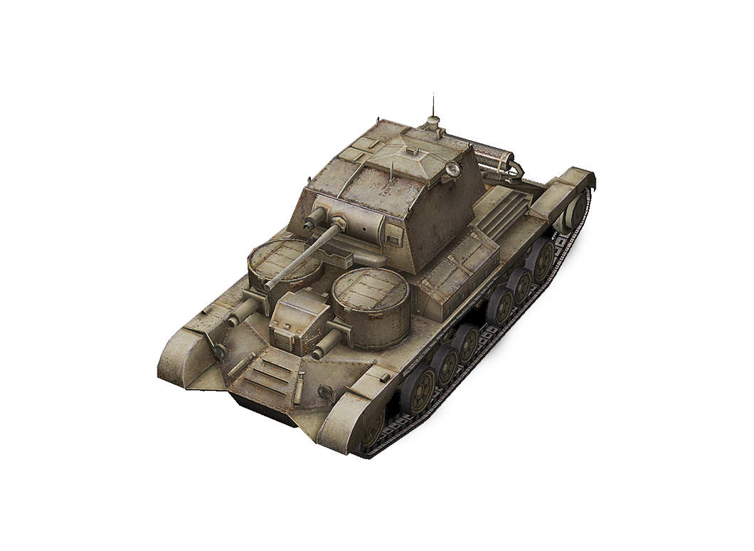 Cruiser Mk. I в World of Tanks Blitz