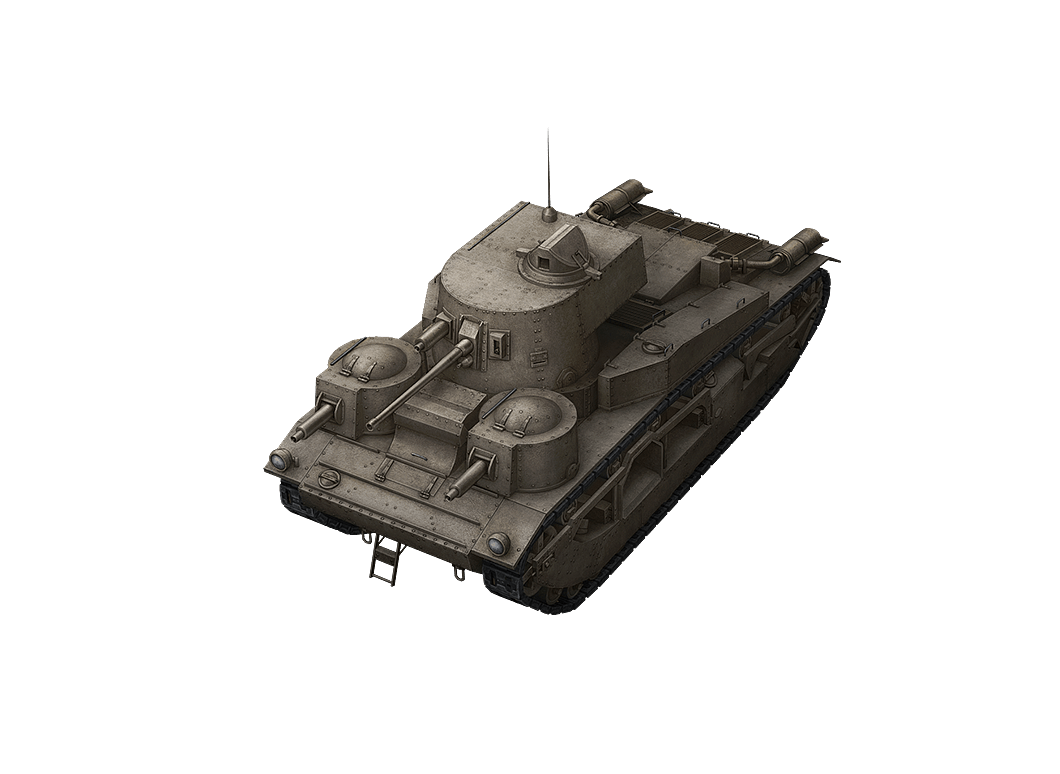 Vickers Medium Mk. III в World of Tanks Blitz