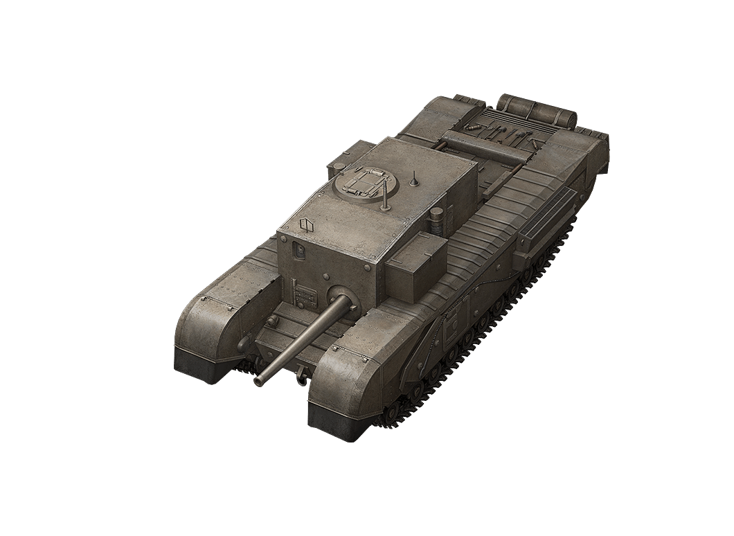 Churchill Gun Carrier в World of Tanks Blitz