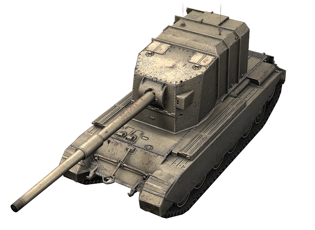 FV4005 в World of Tanks Blitz
