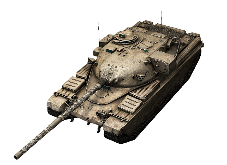 Chieftain Mk.6 в World of Tanks Blitz