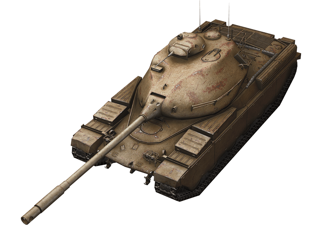 Chieftain/T95 в World of Tanks Blitz