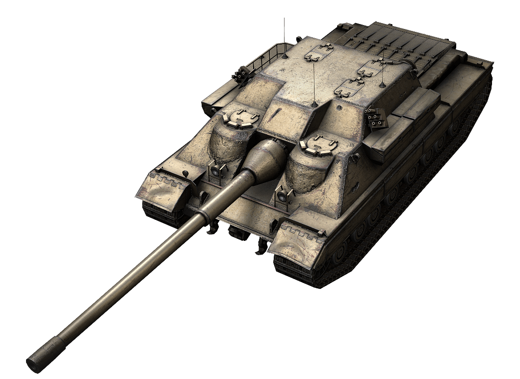 FV217 Badger в World of Tanks Blitz