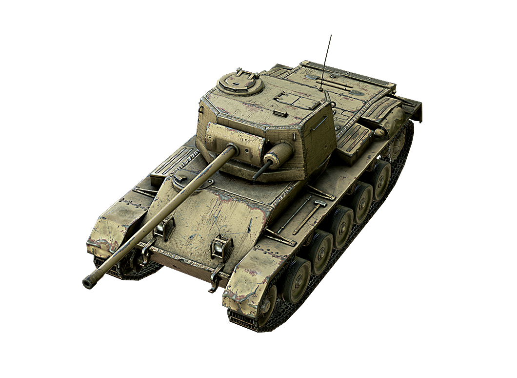Vickers Cruiser в World of Tanks Blitz