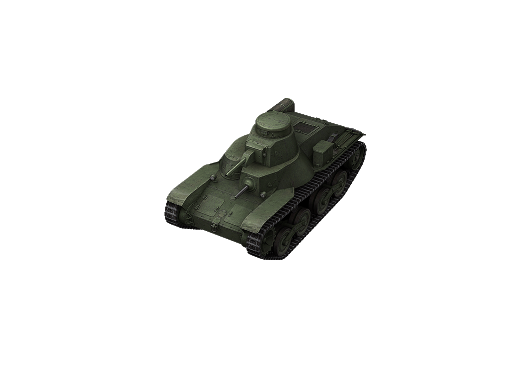 Type 95 Ha-Go в World of Tanks Blitz