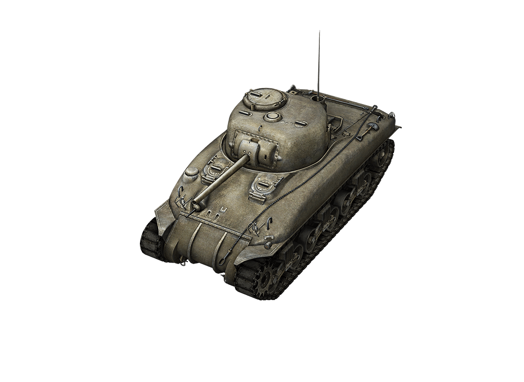 M4 Sherman в World of Tanks Blitz