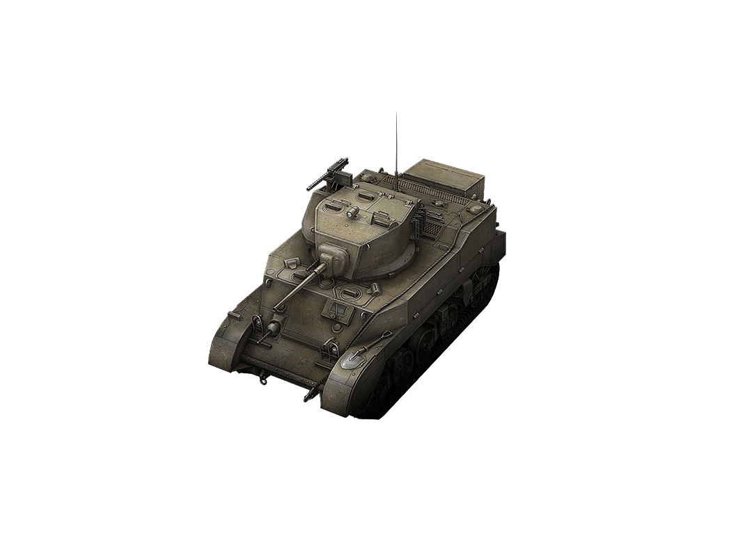 M5 Stuart в World of Tanks Blitz