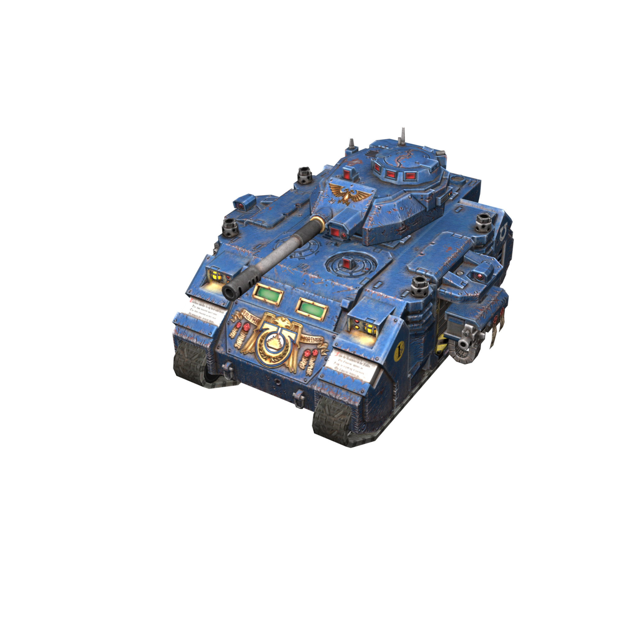 Predator Ultramarines в World of Tanks Blitz