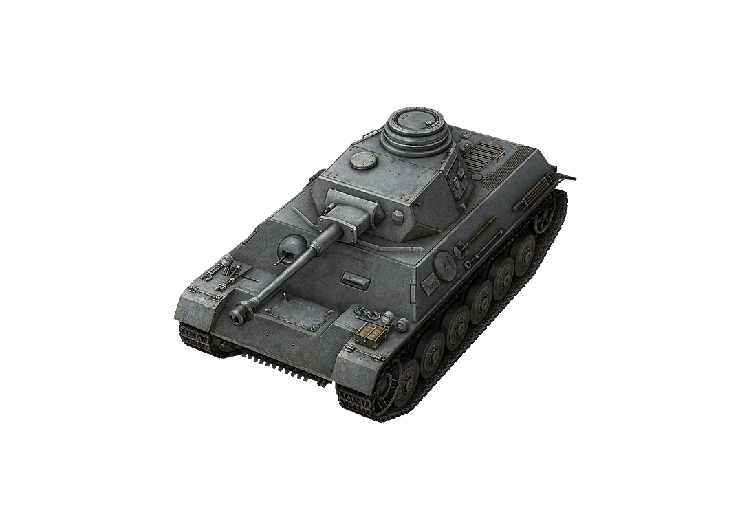 Pz.Kpfw. III/IV в World of Tanks Blitz