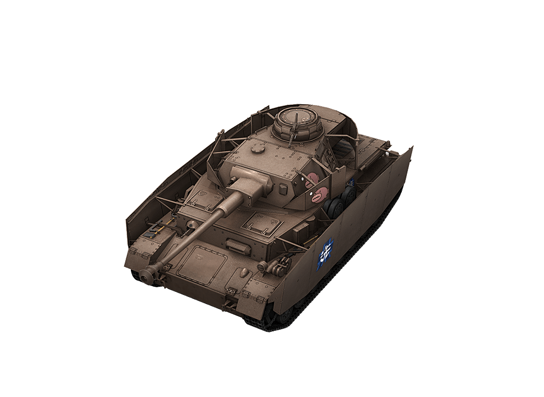 Panzer IV Anko Special в World of Tanks Blitz