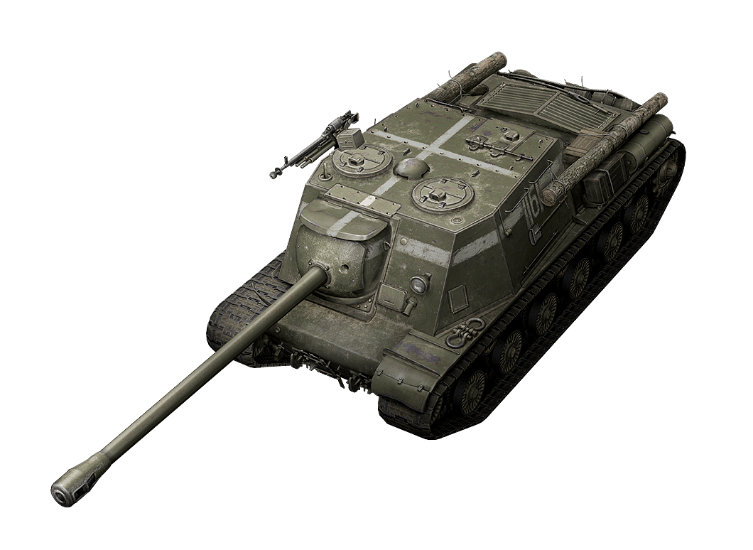 ИСУ-122С в World of Tanks Blitz