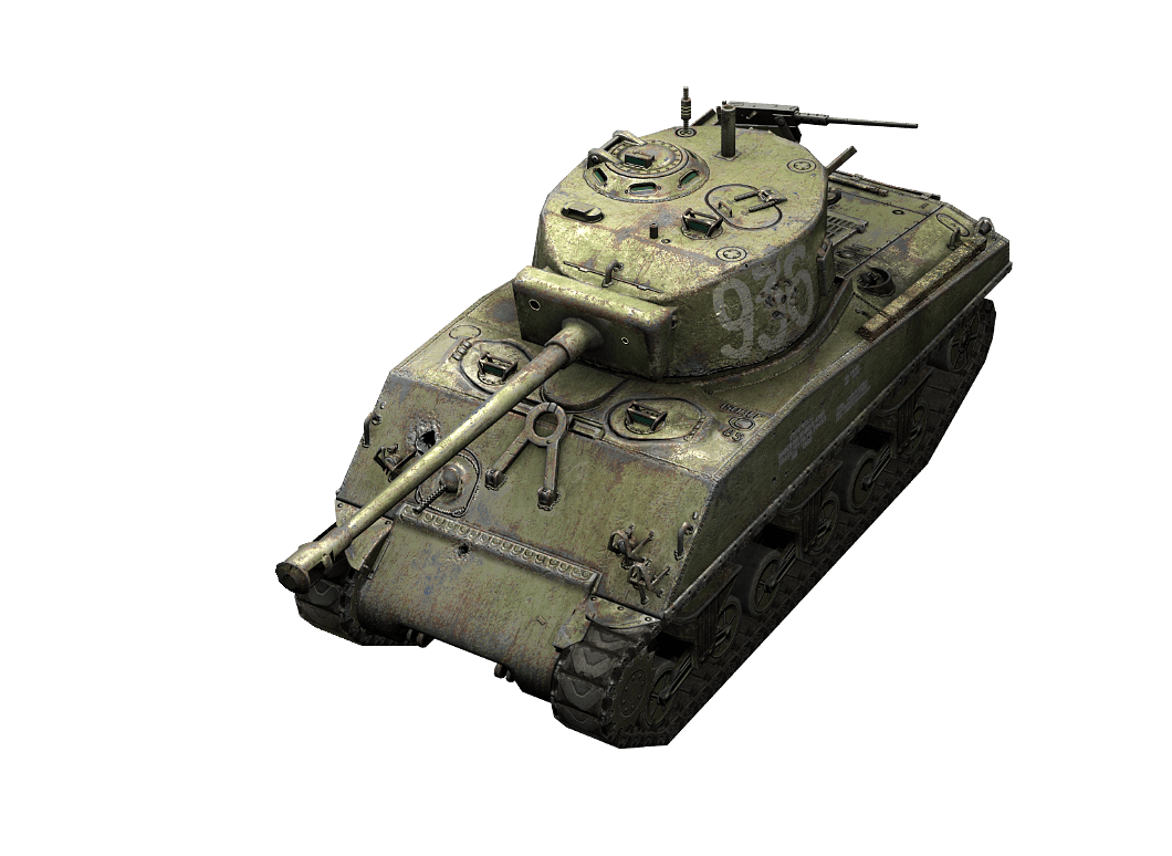М4-А2 Шерман Лозы в World of Tanks Blitz