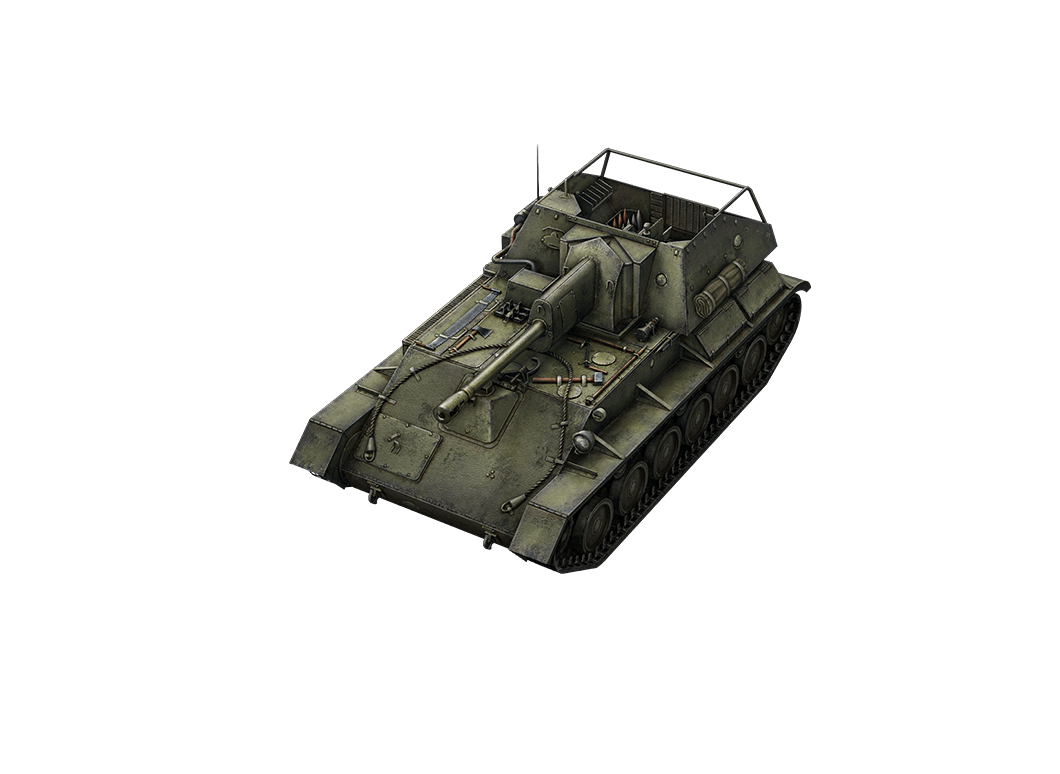 СУ-76 в World of Tanks Blitz