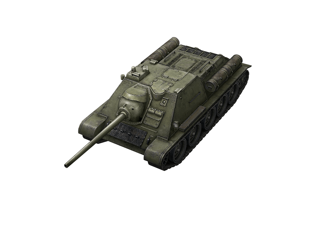 СУ-85 в World of Tanks Blitz