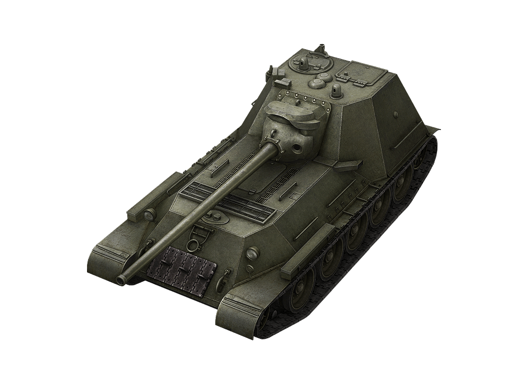 СУ-100М1 в World of Tanks Blitz