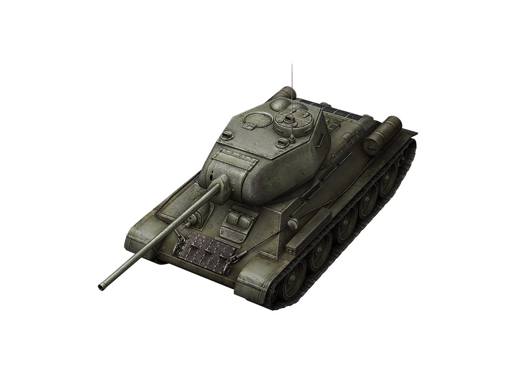 Т-34-85 в World of Tanks Blitz